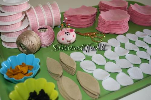 Na preparação ... by sweetfelt \ ideias em feltro