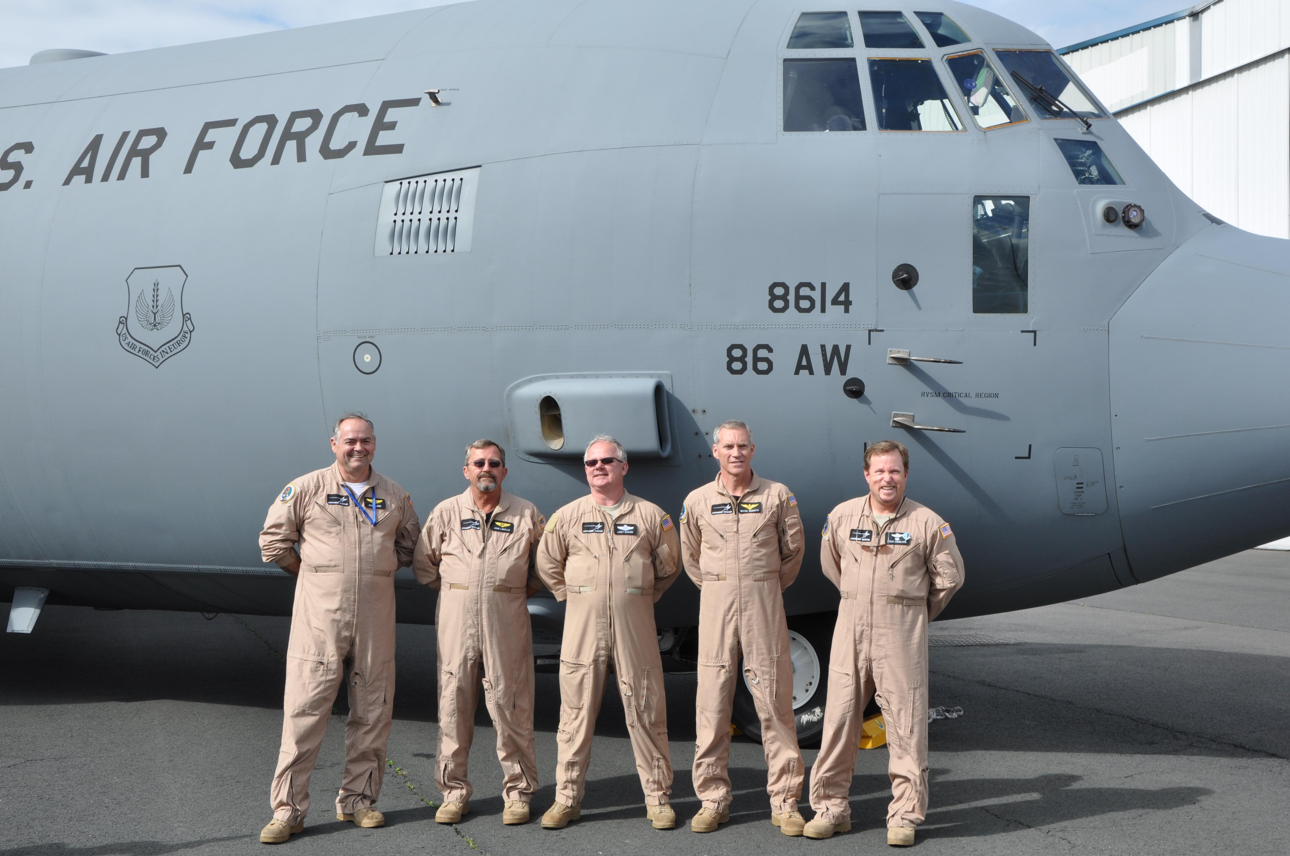 Crew of LM C130J
