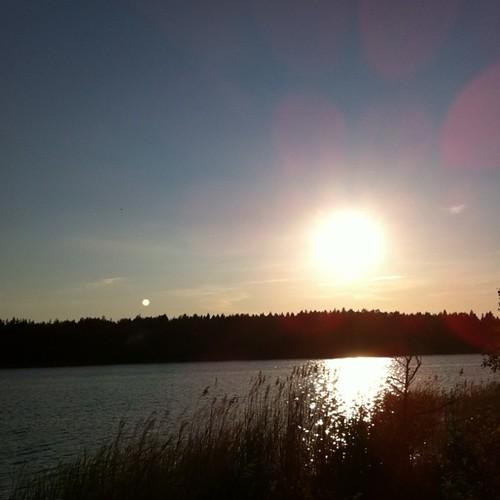 Midsummer night, the sun will not set