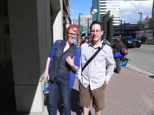 Sally and Jeff - the edmontonian arrives!