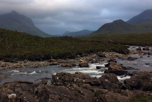 Skye is absolutely stunning, braved the horizontal rain to take a hike.