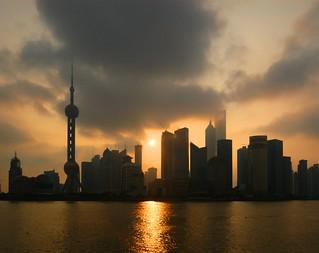 Shanghai - Pudong Sunrise