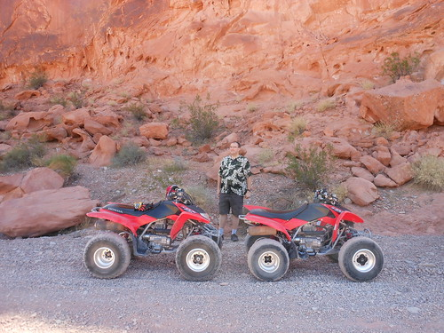 Chris and our ATVs
