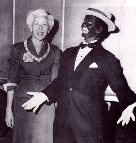 Doris Day in blackface