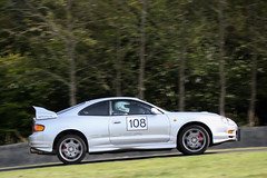 Doune Hill Climb (<p&p>photo) Tags: davidlawrence lawrence no108 number108 number 108 toyotacelica gtfour toyota celicagtfour toyotacelicagtfour celica pan panning panned lothiancarclub lothian car club doune hill climb hillclimb dounehillclimb 2016 september september2016 auto race racing sport motorsport scotland uk automobile championship classic historic motor track worldcars 108frame