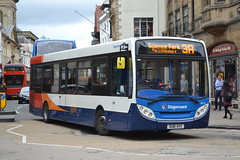 Stagecoach Oxford 36453 OU61AVC (Will Swain) Tags: oxford 6th september 2016 bus buses transport travel uk britain vehicle vehicles county country england english oxfordshire city centre stagecoach 36453 ou61avc