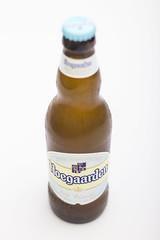 Hoegaarden - Wheat Beer (Alvimann) Tags: alvimann beer cerveza weissbeer rubia trigo wit gold golden dorado label etiqueta verage bebida beber drink drinking alcohol alcoholic belgium belgica caleste lightblue hoegaarden