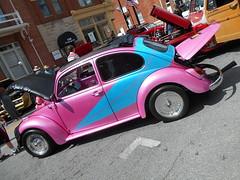 1968 Volkswagen Beetle (splattergraphics) Tags: 1968 volkswagen beetle vw volksrod carshow charlestowncarshow charlestownwv