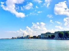 Lungo mare di Bari (Nello Massimo) Tags: mare sole panorama weareinpuglia puglia bari lungomare