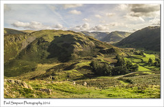 Martindale Common, Cumbria (Paul Simpson Photography) Tags: cumbria lakedistrict hallinfell hills martindalecommon sonya77 september2016 imagesof imageof paulsimpsonphotography photosof photoof mountains outdoor walking activity activities lakeland countryside