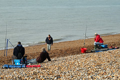 Hastings beach sea anglers (Daves Portfolio) Tags: beach fishing hastings beachfishing angler angling seaangler