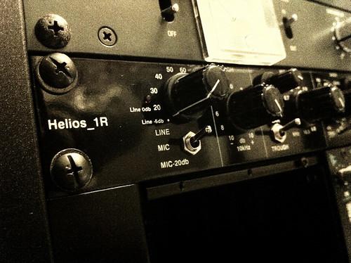 Helios 1r Stereo Type 69 Mic Pre/Eq