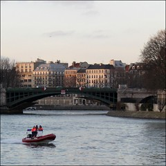 Sunset ~ La Seine ~ Paris ~ MjYj (MjYj) Tags: world life city light sunset sun man motion paris seine contrast river soleil solitude close lumire reflet encounters laseine img0231 mjyj mjyj