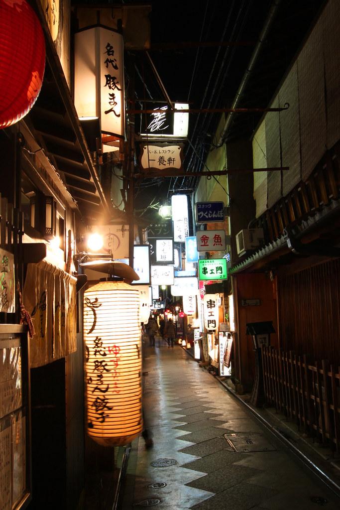 Kamogawa Night Photo (5)