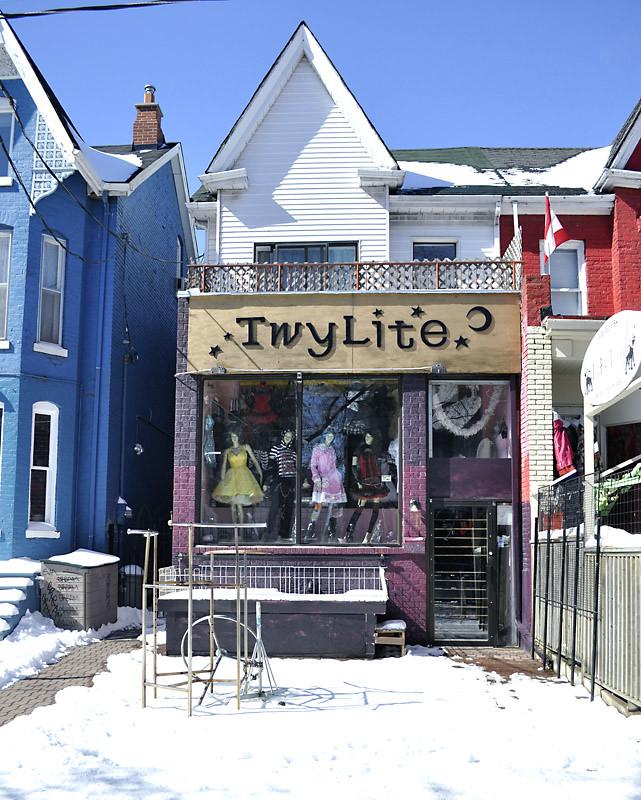 Twylite Fashion shop, Kensington Market