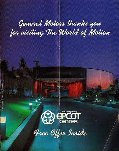 World of Motion - GM Pamphlet 1985 1