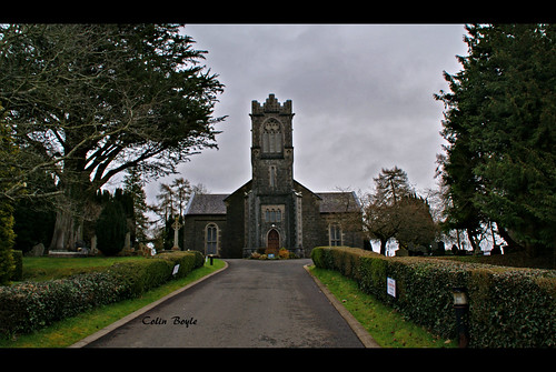 St Fanchea's Church i sognet Rossory i grevskapet Fermanagh (1841)