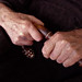 Papa's Hands, 2010, Yvonne (Bonnie) Griffith, photograph, 8 x 10