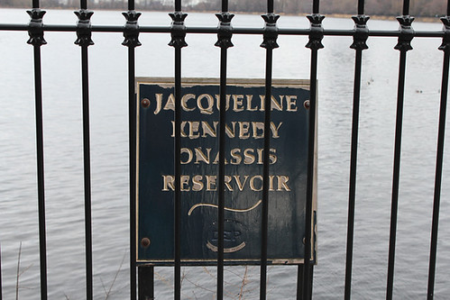 The Jacqueline Kennedy Onassis Reservoir in Central Park