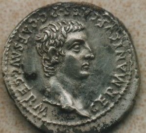 Found with Metal Detector!!  Germanicus