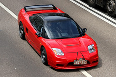 """Acura NSX """"T11824"""", Admiralty, Hong Kong (Daryl Chapman Photography) Tags: auto red car canon honda hongkong japanese cool automobile fast 7d acura nsx admiralty 18135mm worldcars"""