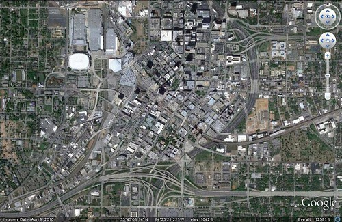 Atlanta, GA (via Google Earth)