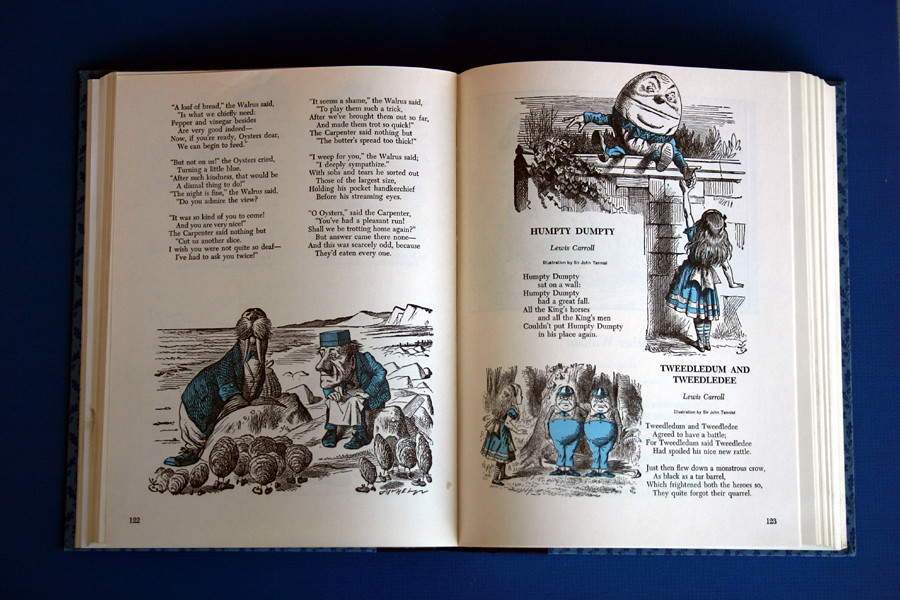 Antique 1955 Heavily Illustrated Fairy Tale book in Original Slipcase - Illustrated Treasury of Childrens Literature - 03