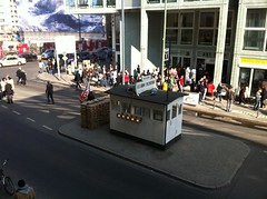 Checkpoint Charlie, as seen from McDonald's