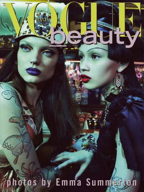 NATY & RANYA BY EMMA SUMMERTON FOR VOGUE ITALIA