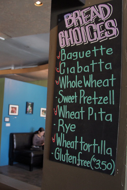 Bread Choices at Green Peas