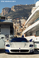 MC 12 (Kyter MC) Tags: blue ice port canon photography eos la automobile europe cotedazur ks automotive montecarlo monaco mc 7d sk 12 yachts supercar mc12 maserati spotting supercars yachting frenchriviera carspotting turbie kyter carsighting