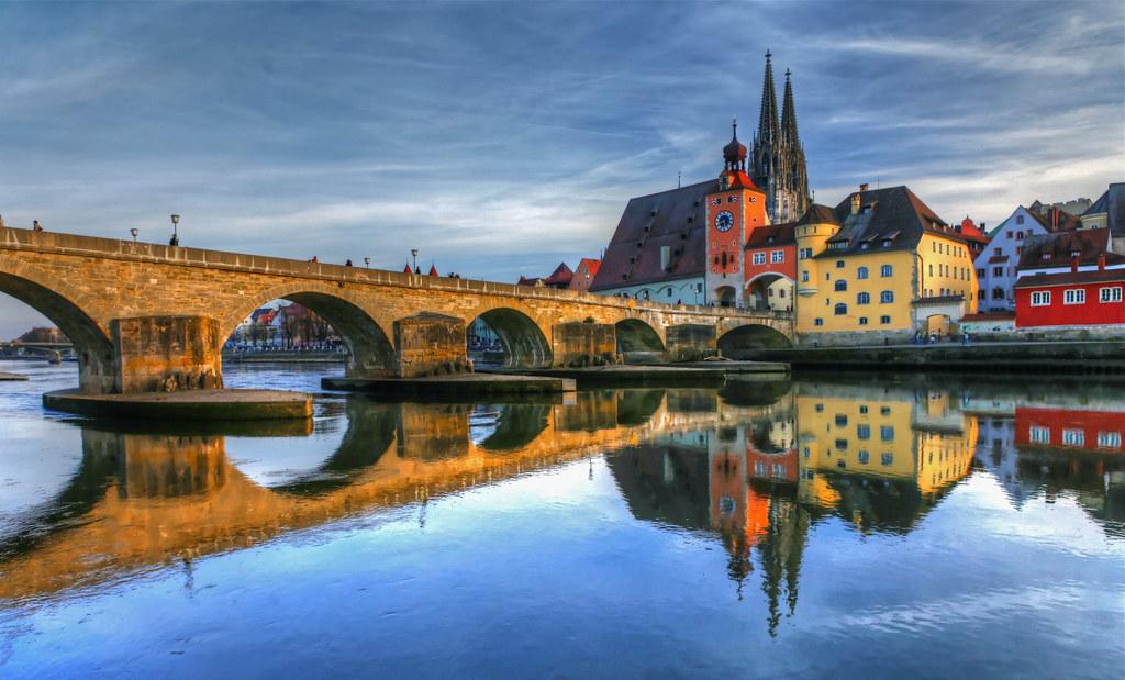 Regensburg Daytime Reflections