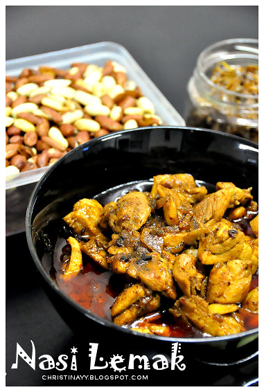 Home-Cook Nasi Lemak: Rendang Chicken
