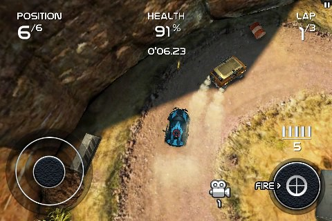 Death Rally (2011 iOS-version)