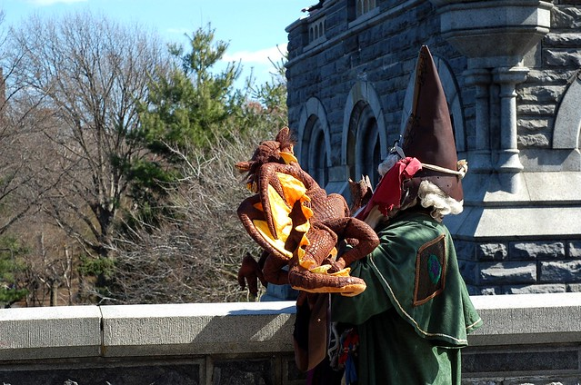 Wizard at Belvedere Castle