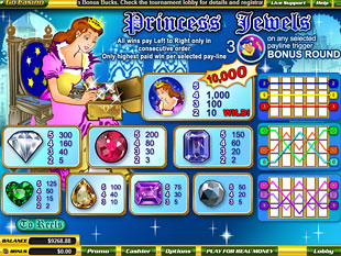 free Princess Jewels slot mini symbol