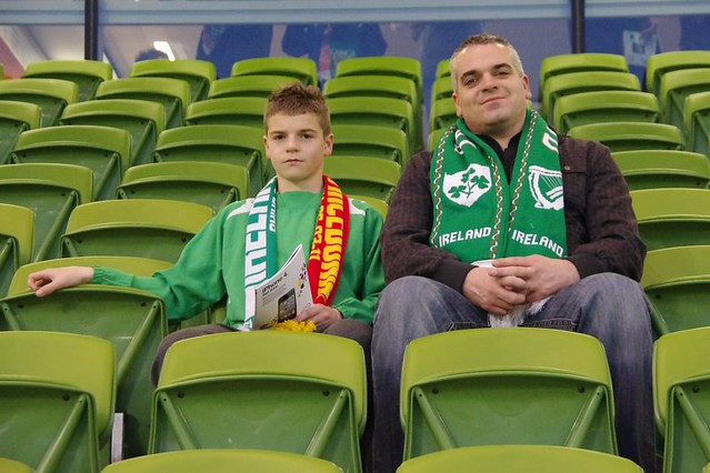 Ireland- the fans