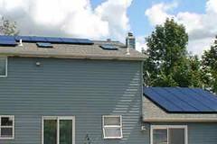 Depew, NY residential solar installation