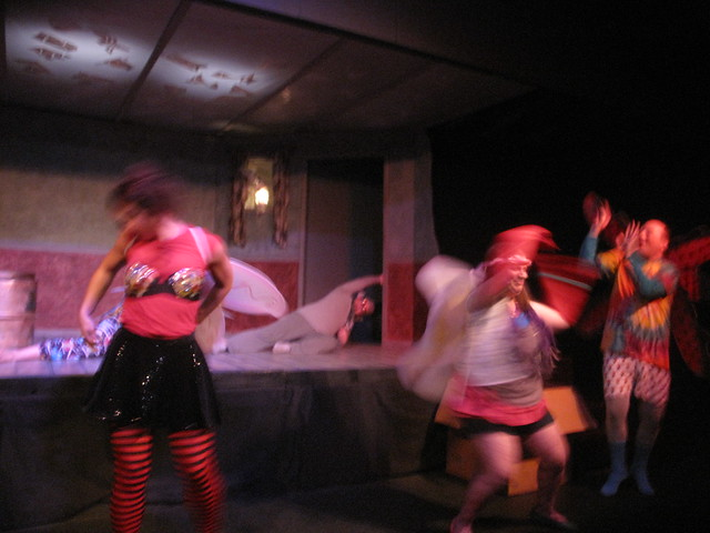 A blur of fairies! (Adina Valerio, Emily Donn & Joseph Beck)