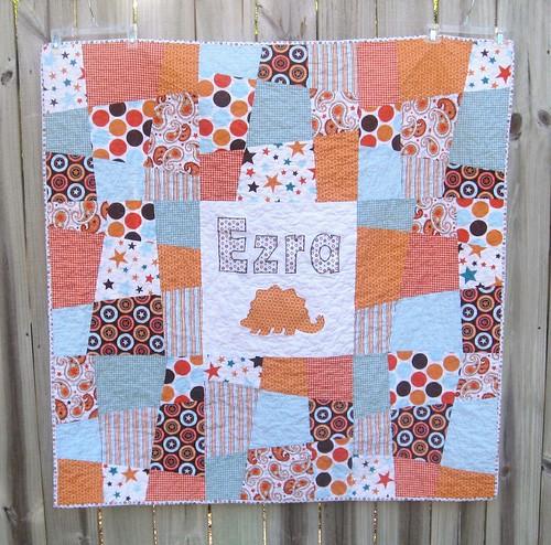 Ezra's quilt complete