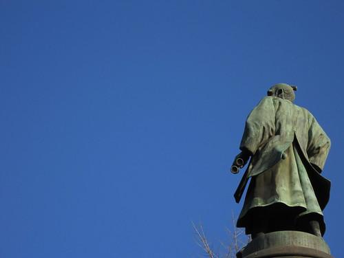 Bronze statue of Masujiro Omura