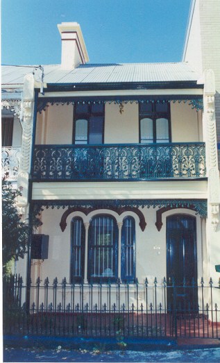 Sydney Terrace House