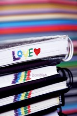 L.O.V.E. (emolish) Tags: love colors demolish rainbow heart