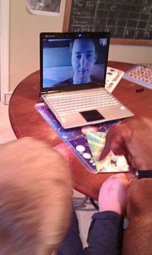 Skyping With Dad