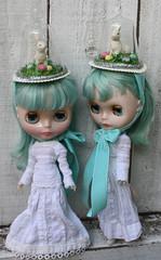 cress & cyres, bonnet modeling