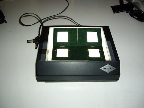 stereo slide mounting