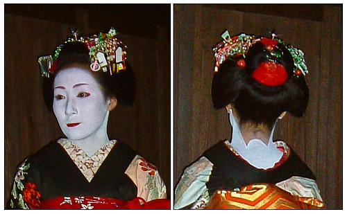Kanzashi front/back