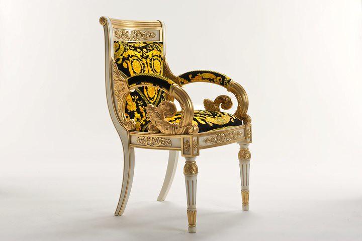 01 Vanitas Armchair por Official Versace