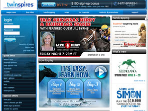TwinSpires Sportsbook Home