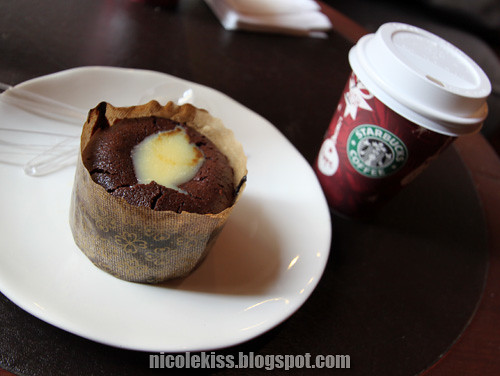 pot of chocolate starbucks